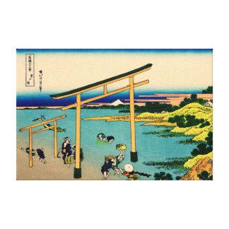 Noborito Bay Canvas Print