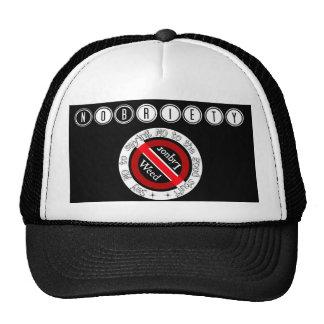 Nobriety Logo Trucker Snapback Trucker Hat