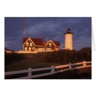 Nobska Lighthouse Cape Cod Wood s Hole Cards