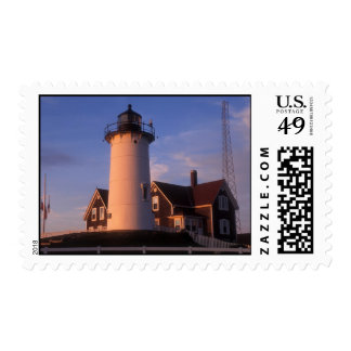Nobska Lighthouse Cape Cod Woods Hole Postage Stamp
