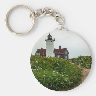 Nobska Lighthouse Keychain