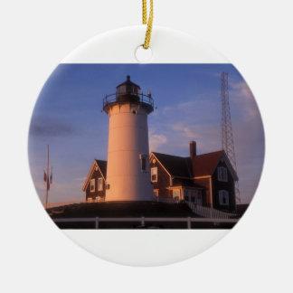 Nobska Lighthouse Ornament