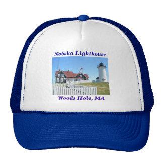 Nobska Lighthouse, Woods Hole, MA #2 Hat
