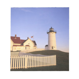 Nobska Lighthouse, Woods Hole, Massachusetts Notepad