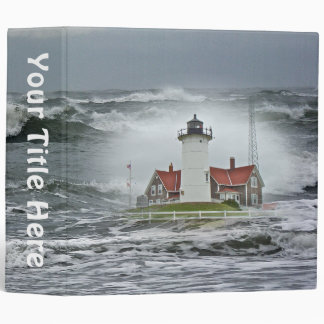 Nobska Point Lighthouse Binder