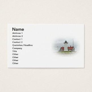 Nobska Point Lighthouse Business Card