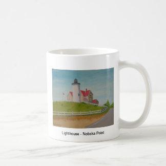 Nobska Point Lighthouse I Coffee Mugs
