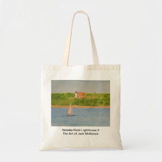 Nobska Point Lighthouse II Bags