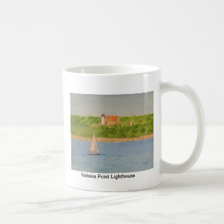 Nobska Point Lighthouse II Classic White Coffee Mug
