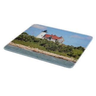 Nobska Point Lighthouse Massachusett Cutting Board