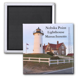 Nobska Point Lighthouse, Massachusetts Magnet
