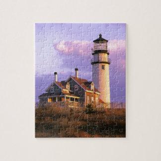 Nobska Point Lighthouse Jigsaw Puzzle