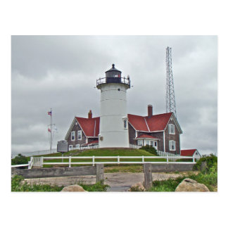 Nobska Point Lighthouse Series Postcard