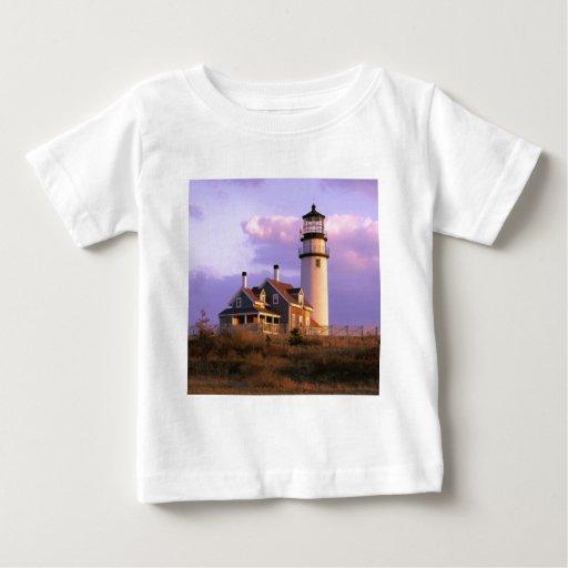 Nobska Point Lighthouse Tee Shirt