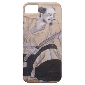 Nobufusa-Samurai del bizcocho borracho iPhone 5 Fundas