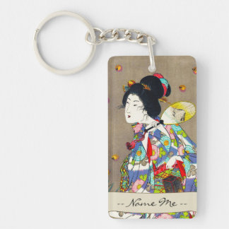 Nobukazu Yosai Favourites Of Beautiful Ladies Love Keychain