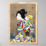 Nobukazu Yosai Favourites Of Beautiful Ladies Love Posters