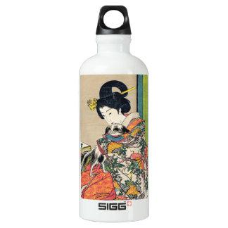 Nobukazu Yosai Favourites Of Beautiful Ladies Love Water Bottle
