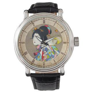 Nobukazu Yosai Favourites Of Beautiful Ladies Love Wristwatch