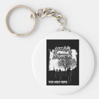 Noc Rez Zombies Basic Round Button Keychain