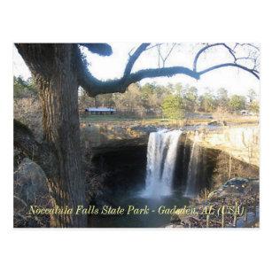 """""""Noccalula Falls"""" - Gadsden, AL (1) Postcard"""