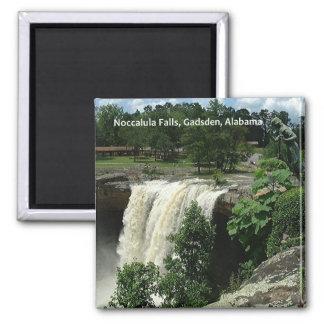 Noccalula Falls, Gadsden, Alabama 2 Inch Square Magnet