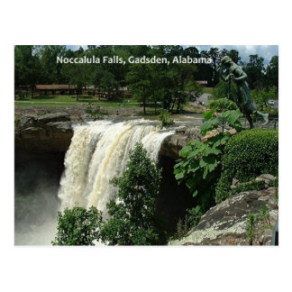 Noccalula Falls, Gadsden, Alabama Post Card