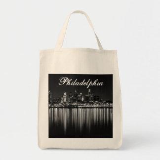 Noche b/w de Philly Bolsa Tela Para La Compra