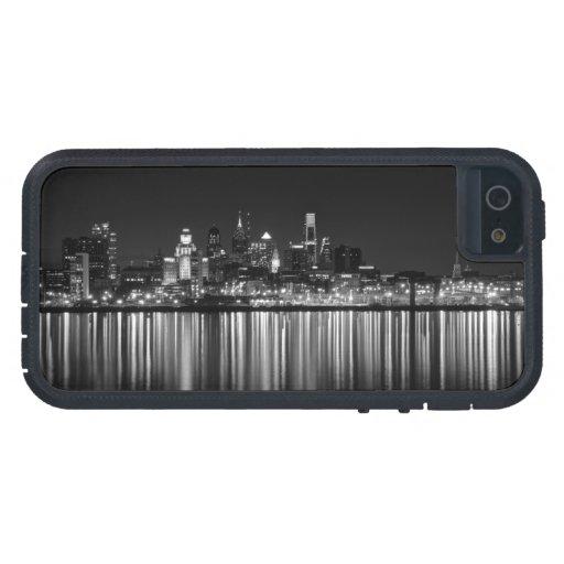 Noche b/w de Philly iPhone 5 Case-Mate Coberturas