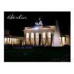 noche de Berlín Brandeburgo Postal