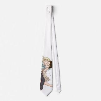 Noche de boda corbata personalizada