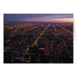 noche de Chicago Tarjeton