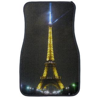 noche de Eiffel Alfombrilla De Auto