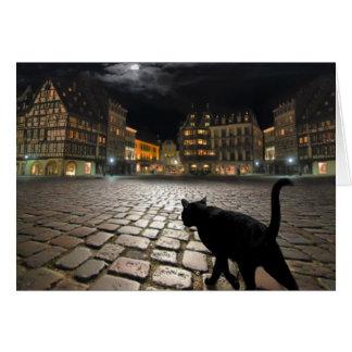 Noche de Estrasburgo Tarjeta De Felicitación