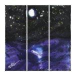 Noche de estrellas impresiones en lienzo estiradas