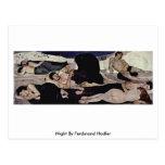 Noche de Ferdinand Hodler Postales