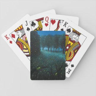 Noche de Forset Baraja De Póquer