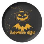 Noche de Halloween Platos Para Fiestas