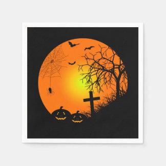 Noche de Halloween Servilleta De Papel