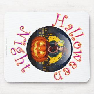 Noche de Halloween Tapete De Ratones