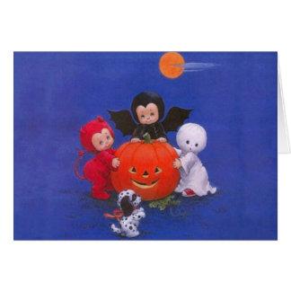 Noche de Halloween Tarjeta De Felicitación