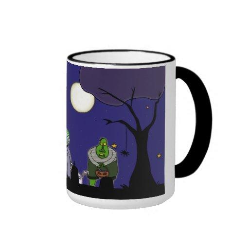 Noche de Halloween Tazas De Café