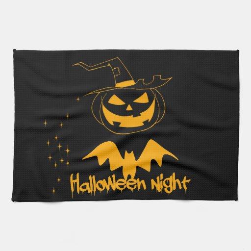 Noche de Halloween Toalla