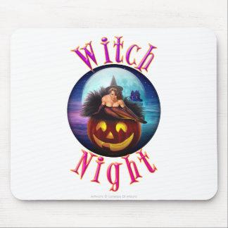 Noche de la bruja alfombrillas de ratones