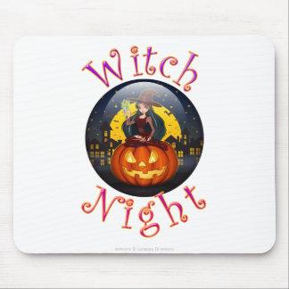 Noche de la bruja tapete de ratón