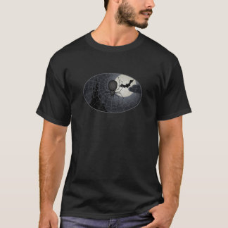 Noche de la camiseta de la araña