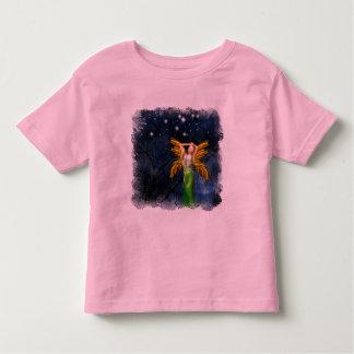 Noche de la camiseta de la fantasía del chica del poleras