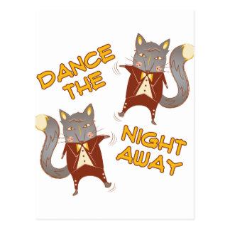 Noche de la danza ausente postal