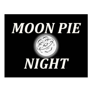 Noche de la empanada de la luna de la CAMISETA Tarjeta Postal