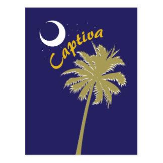 Noche de la isla de Captiva Postal